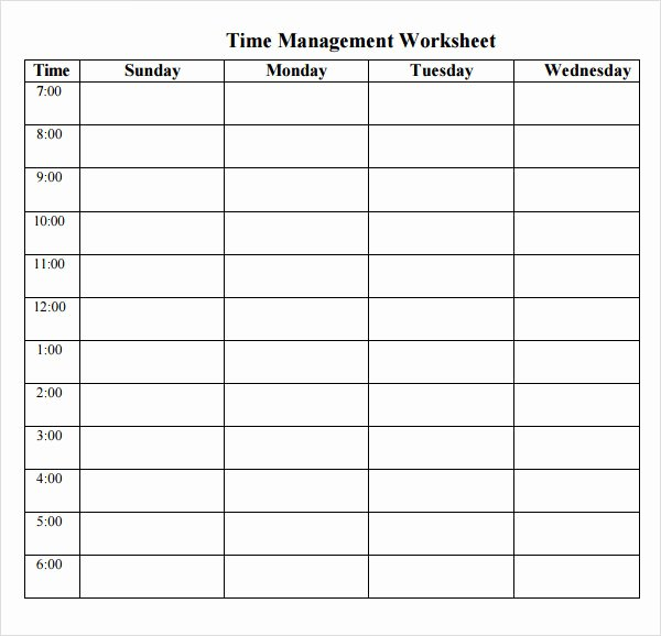 Time Management Log Template New Time Log Template 14 Download Documents In Pdf Word
