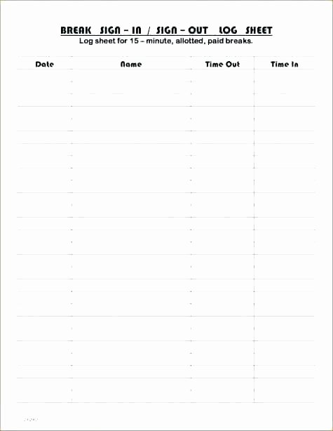 Time Sign Up Sheet Template Elegant Sign Off Sheets Template – Buildingcontractor