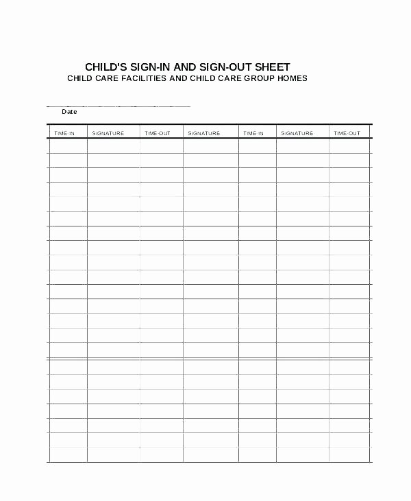 Time Sign Up Sheet Template Elegant Time Sign Up Sheet Template – iso Certification