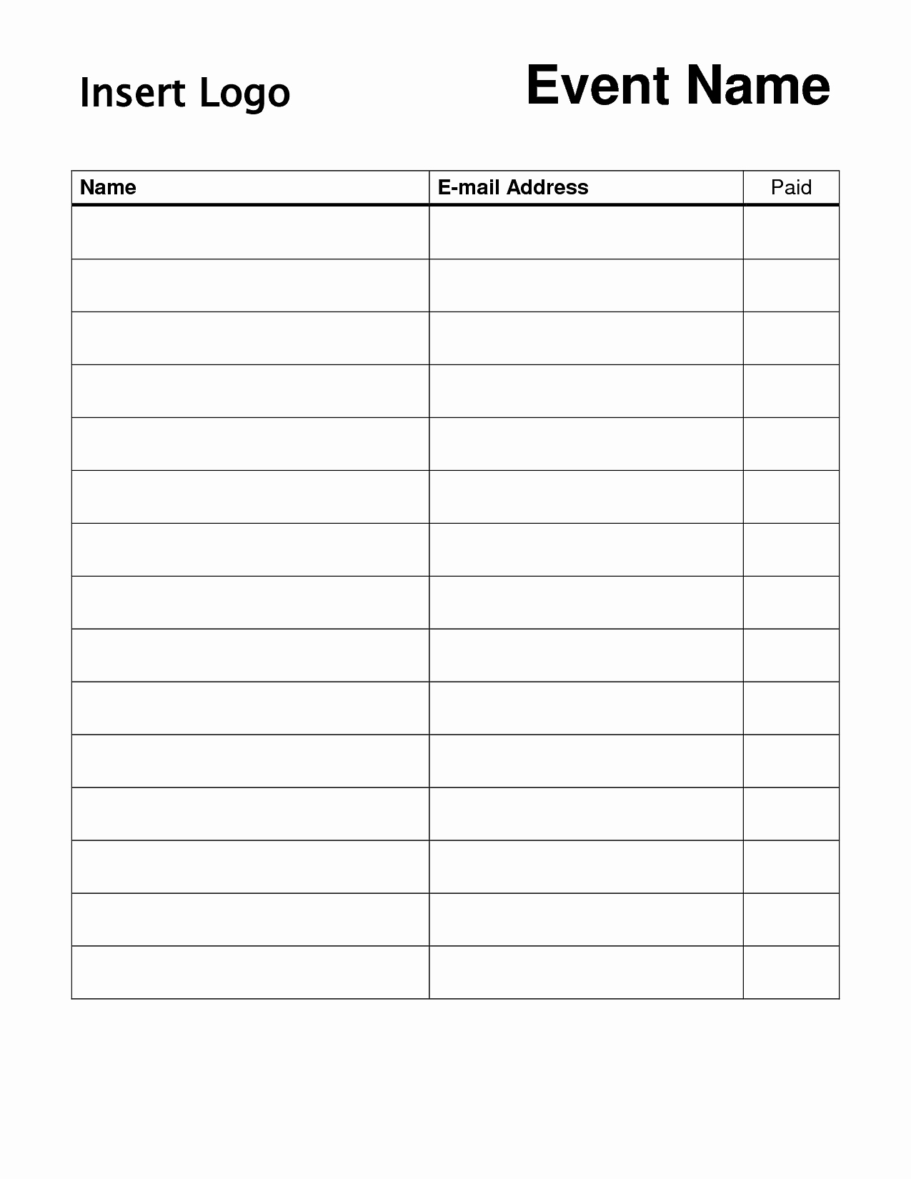 Time Sign Up Sheet Template Fresh Time Sign Up Sheet Template Portablegasgrillweber
