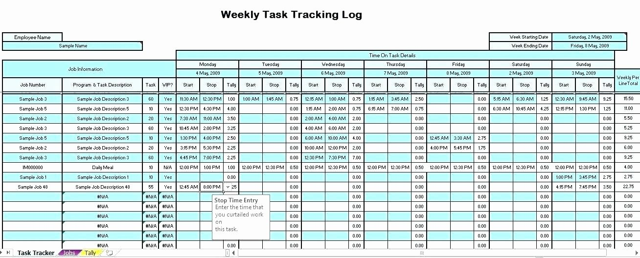 Time Tracking Excel Template Best Of Time Tracking Excel Spreadsheet Time Tracking Excel