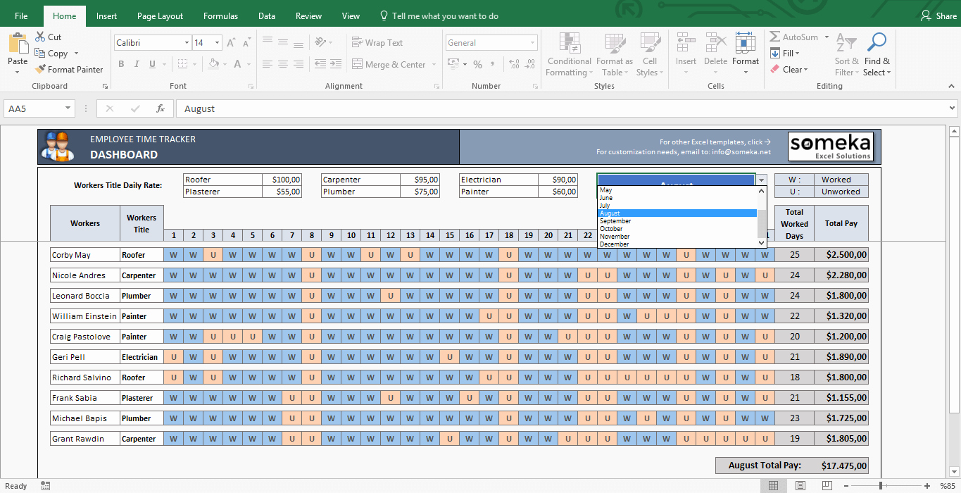 Time Tracking Excel Template Fresh Payroll Template Excel Timesheet Free Download