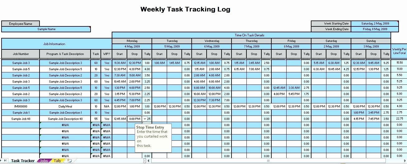 Time Tracking Excel Template Luxury Time Management Excel Sheet Daily Tracking Template