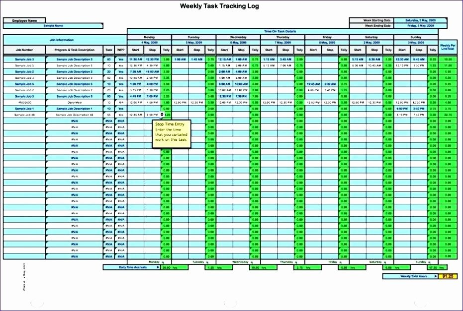 Time Tracking Excel Template Luxury Time Tracking Excel Spreadsheet Sheet Template Daily