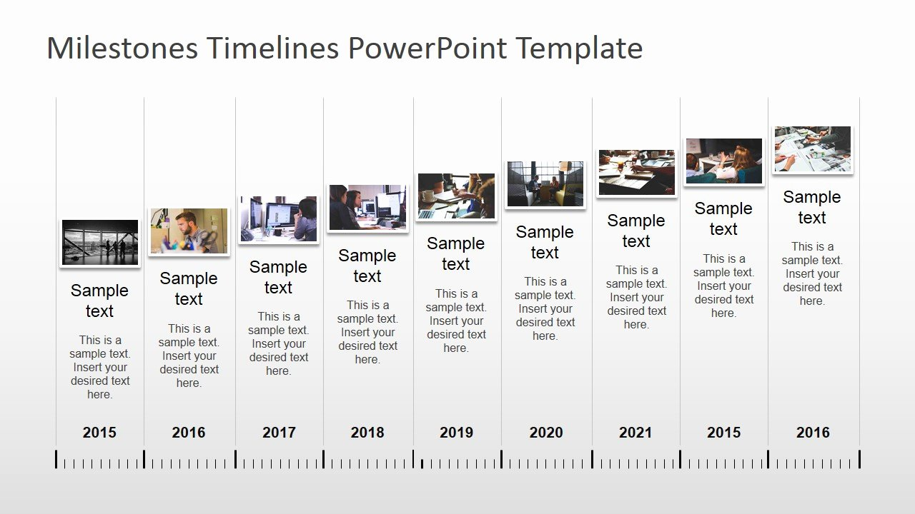 Timeline Ppt Template Free Elegant Milestones Timeline Powerpoint Template Slidemodel