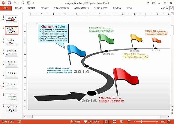 Timeline Ppt Template Free Fresh Animated Timeline Maker Templates for Powerpoint