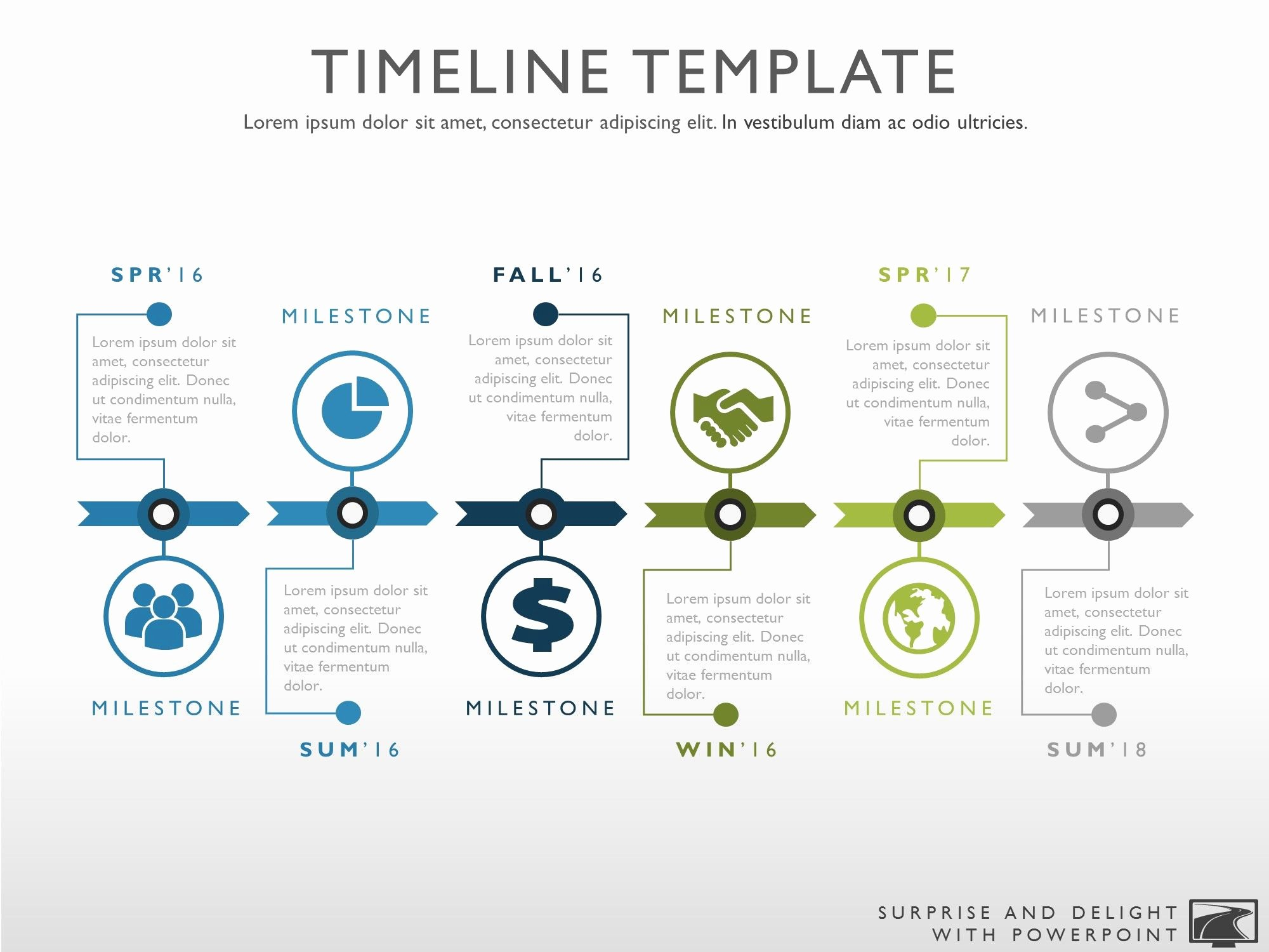 Timeline Ppt Template Free New Best 25 Powerpoint Timeline Slide Ideas On Pinterest