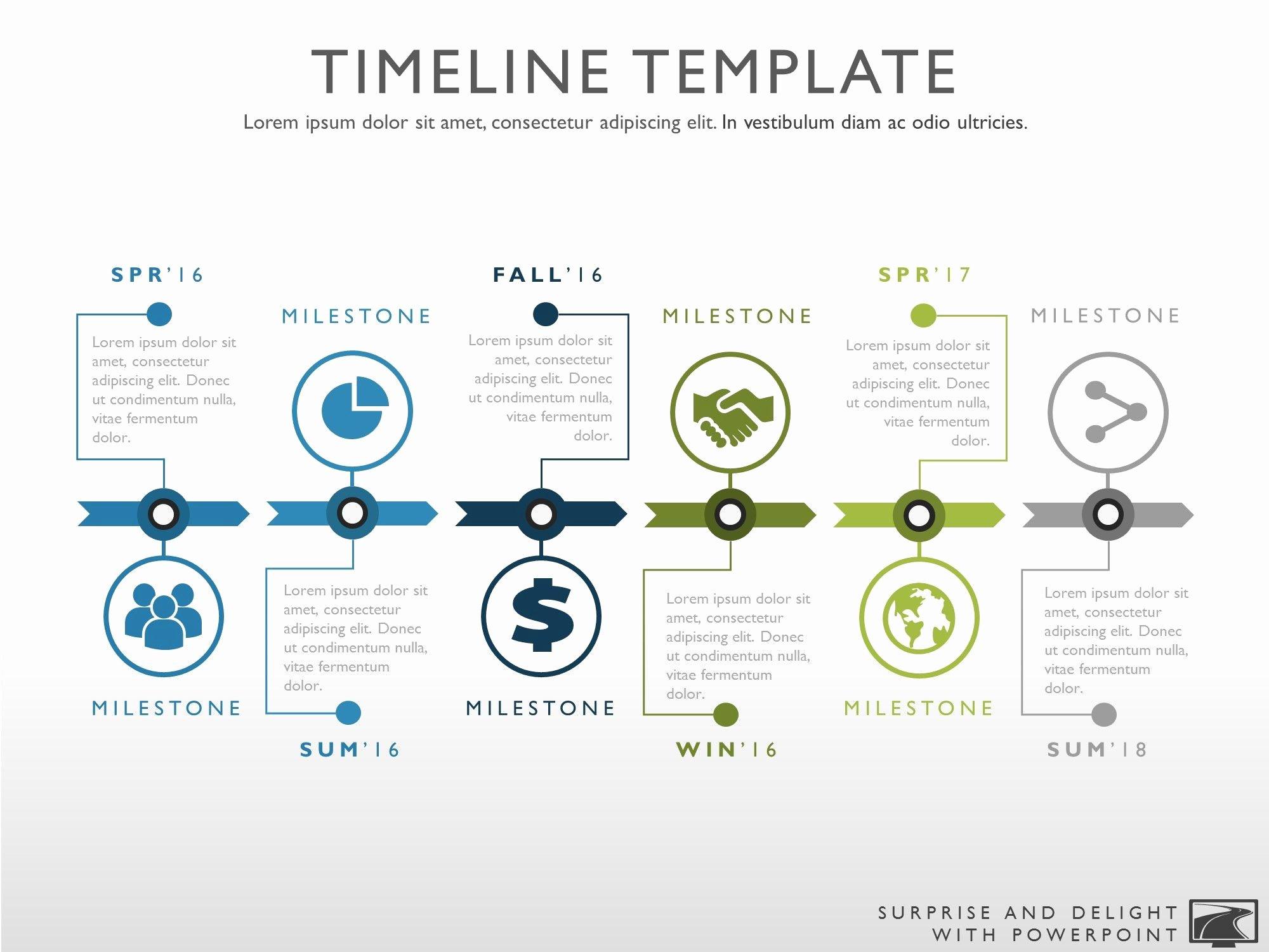 Timeline Ppt Template Free New Best 25 Powerpoint Timeline Slide Ideas On Pinterest
