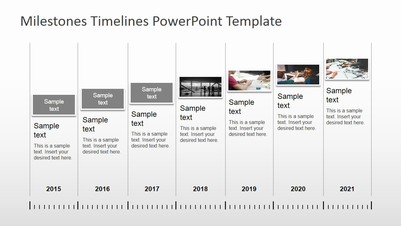 Timeline Ppt Template Free Unique Milestones Timeline Powerpoint Template Slidemodel