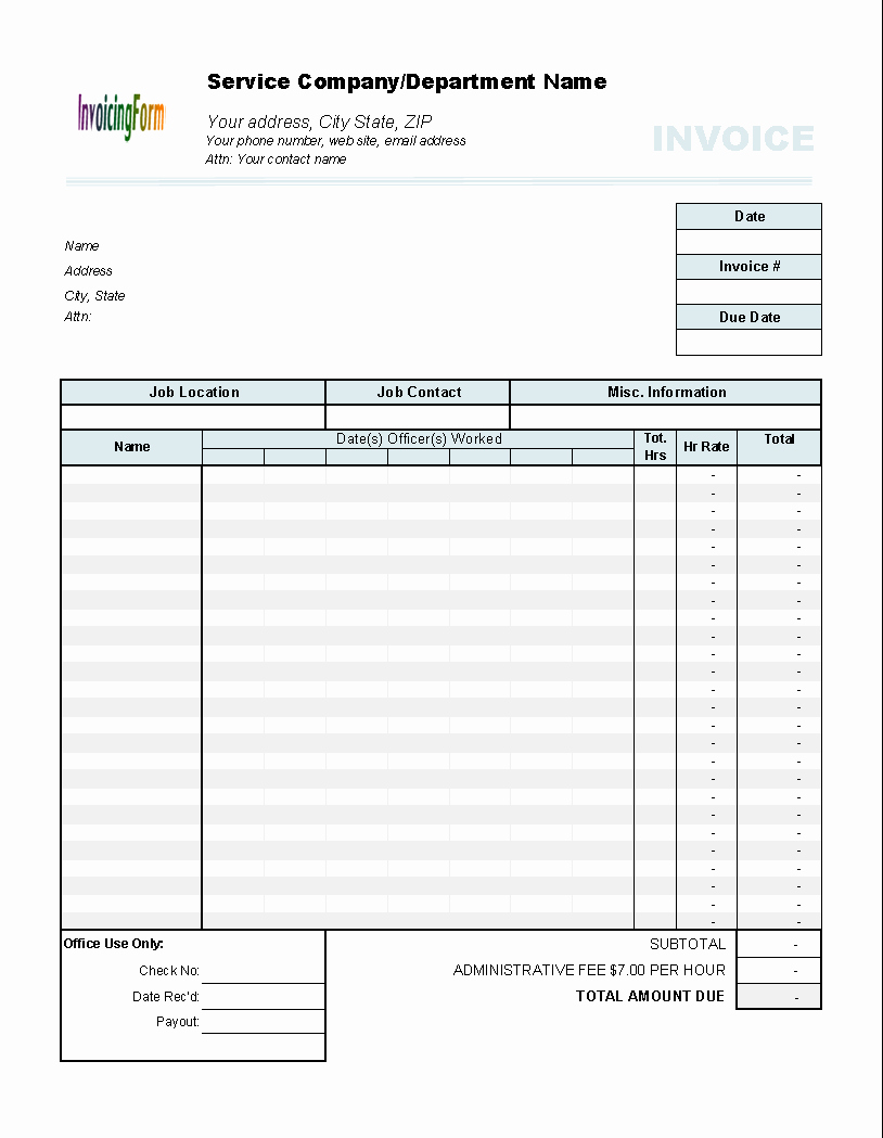 Timesheet Invoice Template Excel Fresh Download Timesheet Invoice Template From Files32 Business