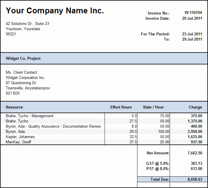 Timesheet Invoice Template Excel Fresh Senomix Timesheets Time and Expense Tracking Features