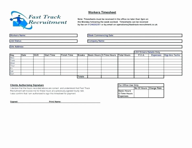 Timesheet Invoice Template Excel Unique Timesheet Invoice Template Excel Invoice Template Word for