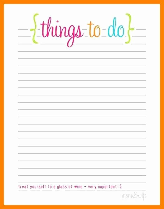 To Do List Template Free Elegant Free Printable to Do List Templates