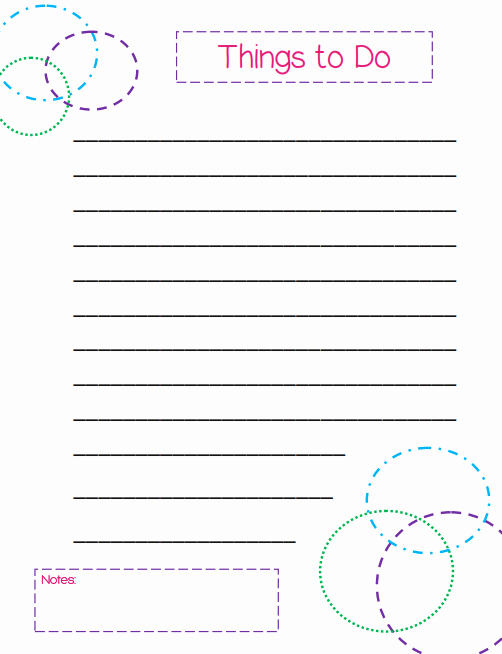 To Do List Template Free Elegant Free Printable to Do Lists – Cute & Colorful Templates