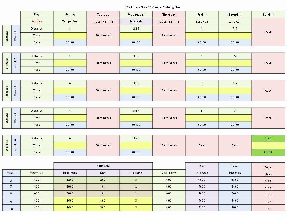 Training Calendar Template Excel Unique Excel Training Plan Template Market Research Plan