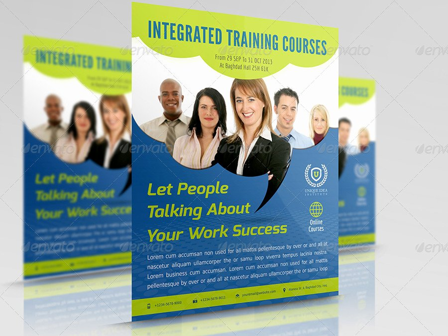 Training Flyer Template Free Beautiful Corporate Training Flyer Vol 7 by Ow