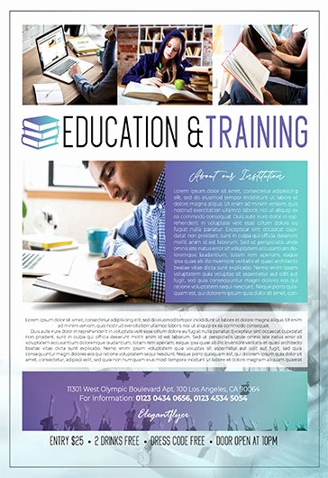 Training Flyer Template Free Best Of Free Flyers Templates In Psd