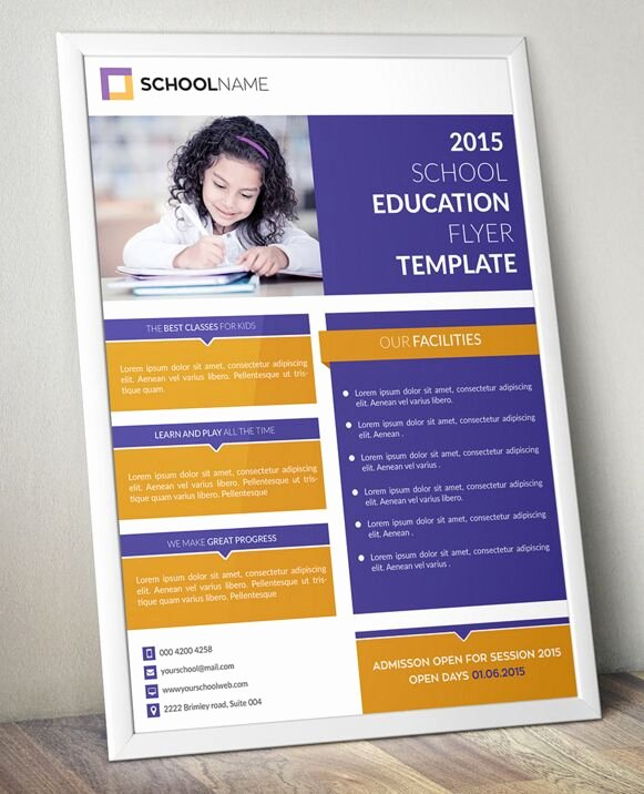 Training Flyer Template Free Best Of Free Standing Education Flyer Template Psd Titanui