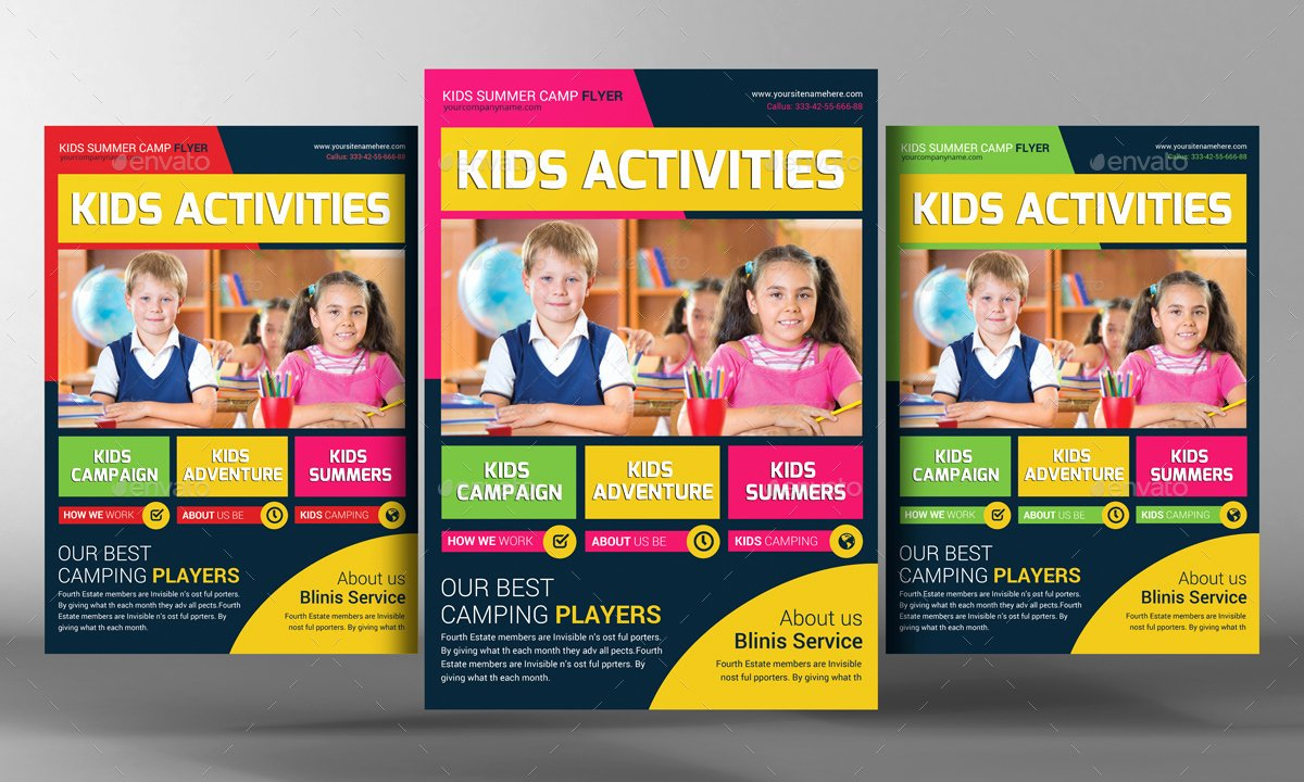 Training Flyer Template Free Best Of Kids School Education Flyer Template by Graphicforestnet