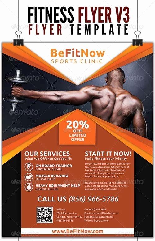 Training Flyer Template Free Elegant Fitness Flyer Google 搜尋 Inspire Fitness