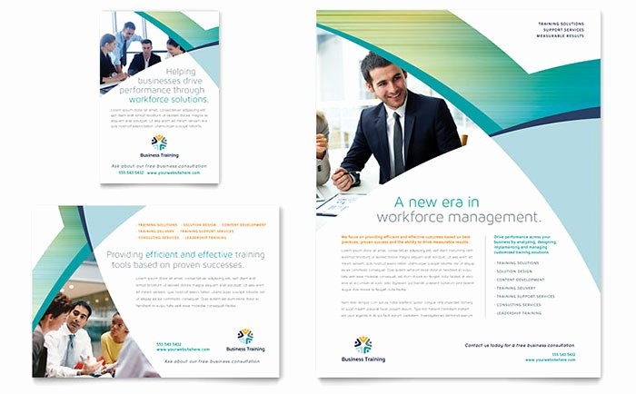 Training Flyer Template Free Inspirational Business Training Flyer & Ad Template Design
