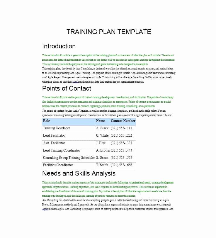 Training Manual Template Microsoft Word Beautiful Training Manual 40 Free Templates & Examples In Ms Word