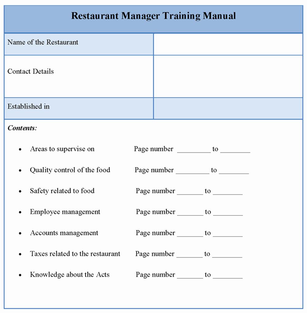 Training Manual Template Microsoft Word Elegant top 5 Resources to Get Free Training Manual Templates