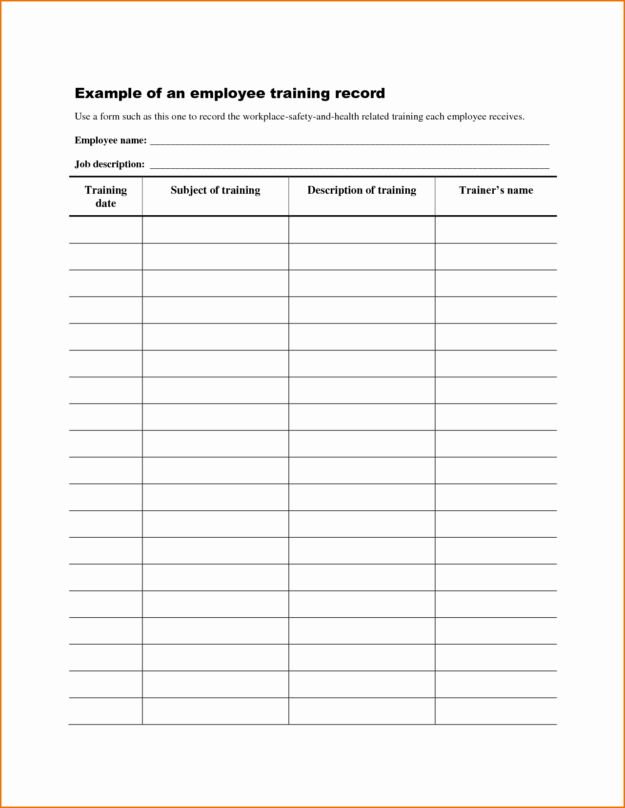 Training Manual Template Microsoft Word Inspirational 10 Employee Training Manual Template Ideas Microsoft