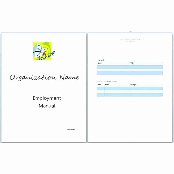 Training Manual Template Microsoft Word New Printable Training Manual Template Free Sample – Narrafy