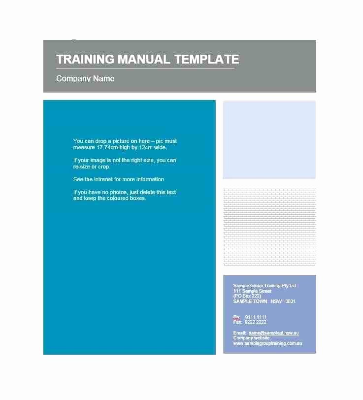 Training Manual Template Microsoft Word Unique Salon Employee Agreement Lovely Staff Training Manual