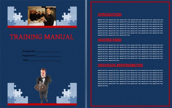 Training Manual Template Word New Boring Work Made Easy Free Templates for Creating Manuals