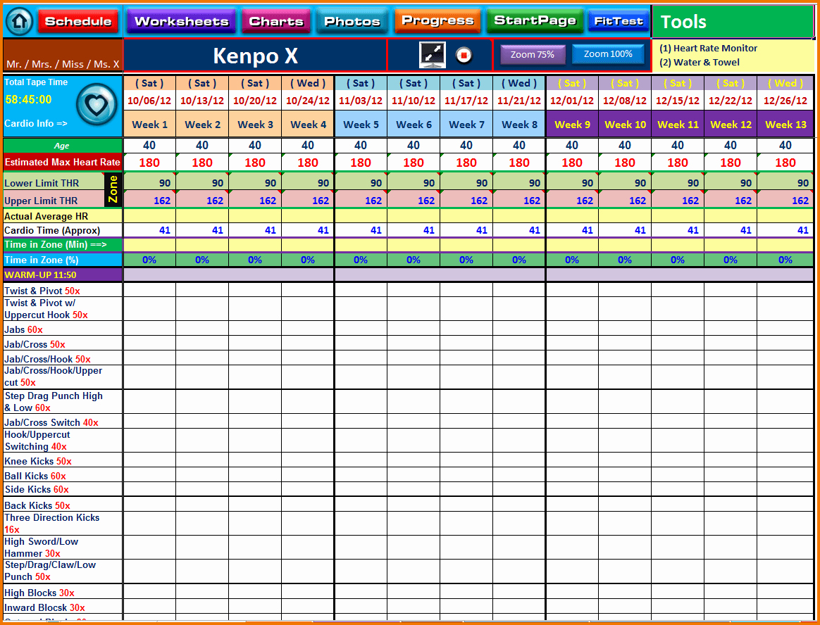 Training Matrix Template Free Excel Awesome Training Spreadsheet Template Spreadsheet Templates for