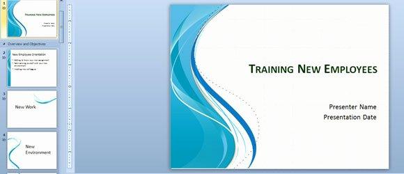 Training New Employees Template Elegant Training New Employees Powerpoint Template