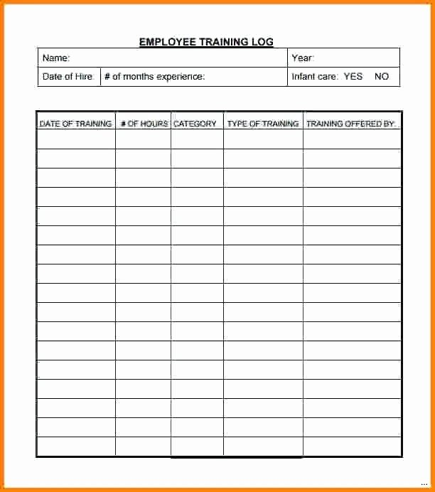 Training New Employees Template New Training Schedule for Employees Template Employee New