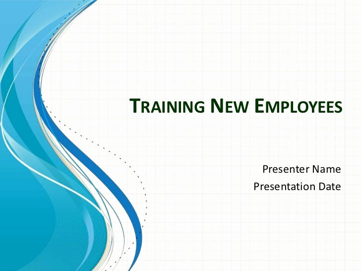 Training New Employees Template Unique Training New Employees