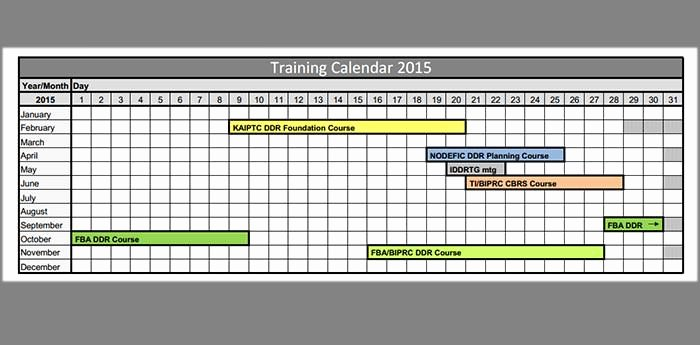 Training Schedule Template Excel Inspirational Training Calendar Template – 25 Free Word Pdf Psd