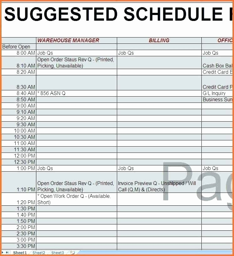Training Schedule Template Excel Luxury 92 Excel Spreadsheet Employee Schedule Full Size