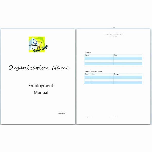 Training Workbook Template Word Elegant Training Workbook Template – Flybymedia