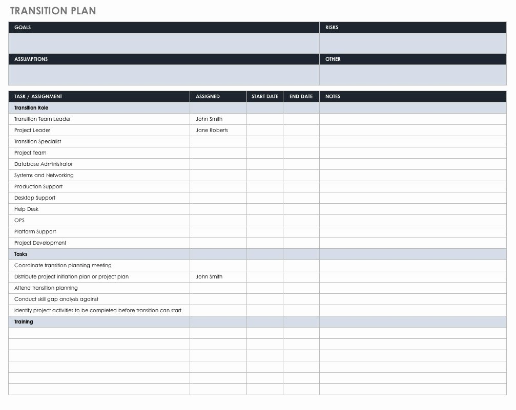 Transition Management Plan Template Inspirational Strategic Human Resource Management