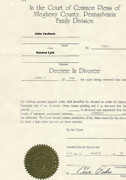 Translation Of Divorce Certificate Template Beautiful Best S Of Divorce Certificate Sample Supreme Court