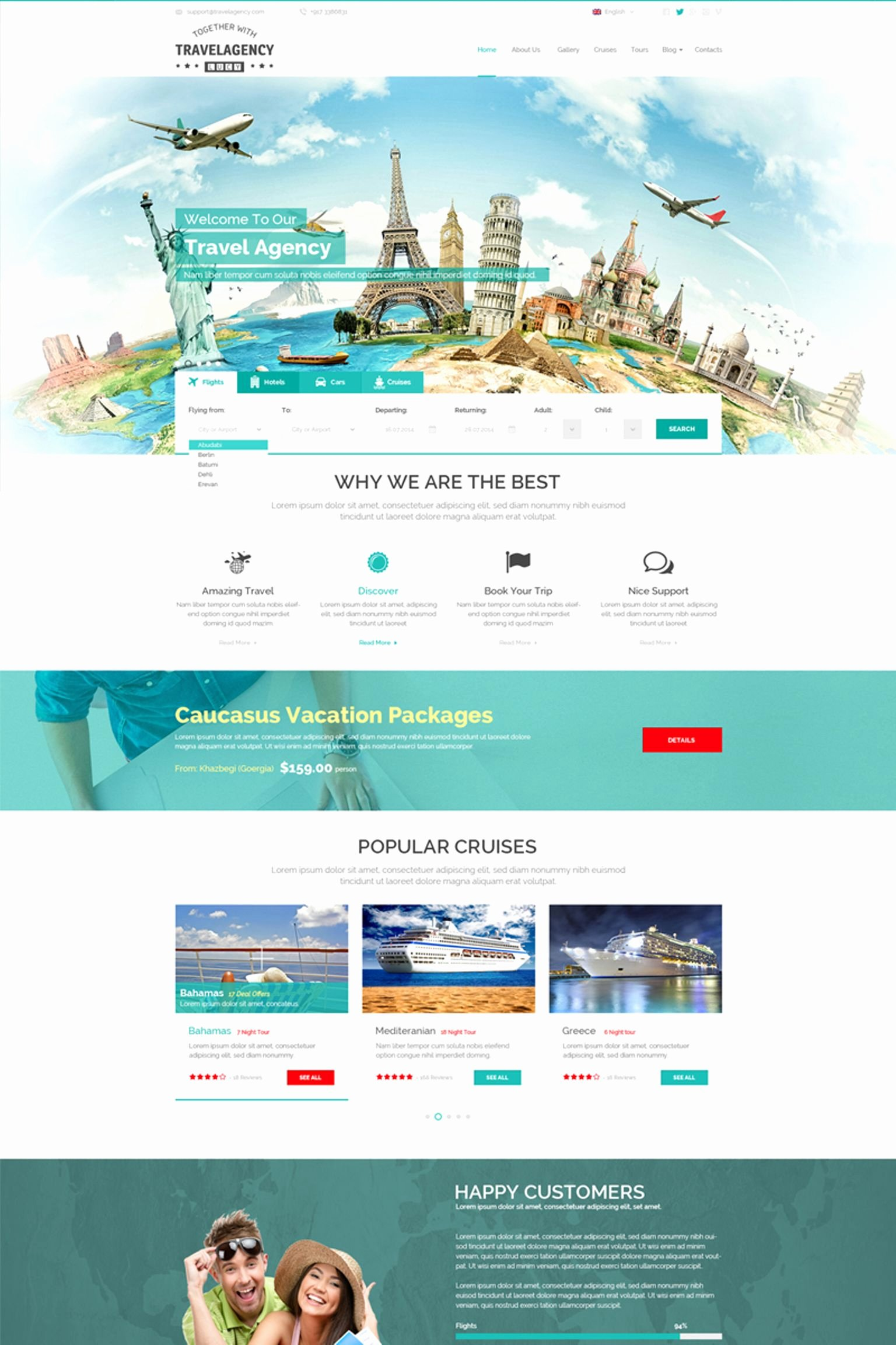 Travel Agency Web Template Beautiful Travel Agency Website Template