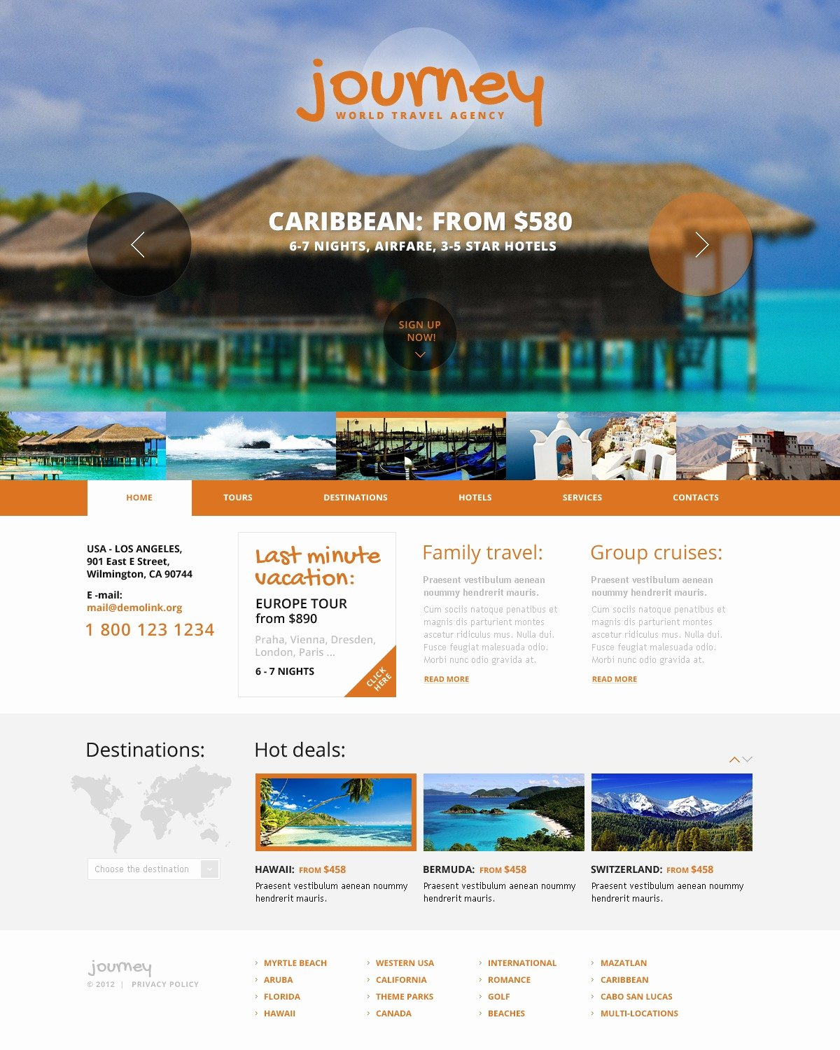 Travel Agency Web Template Elegant Travel Agency Website Template by Wt Website