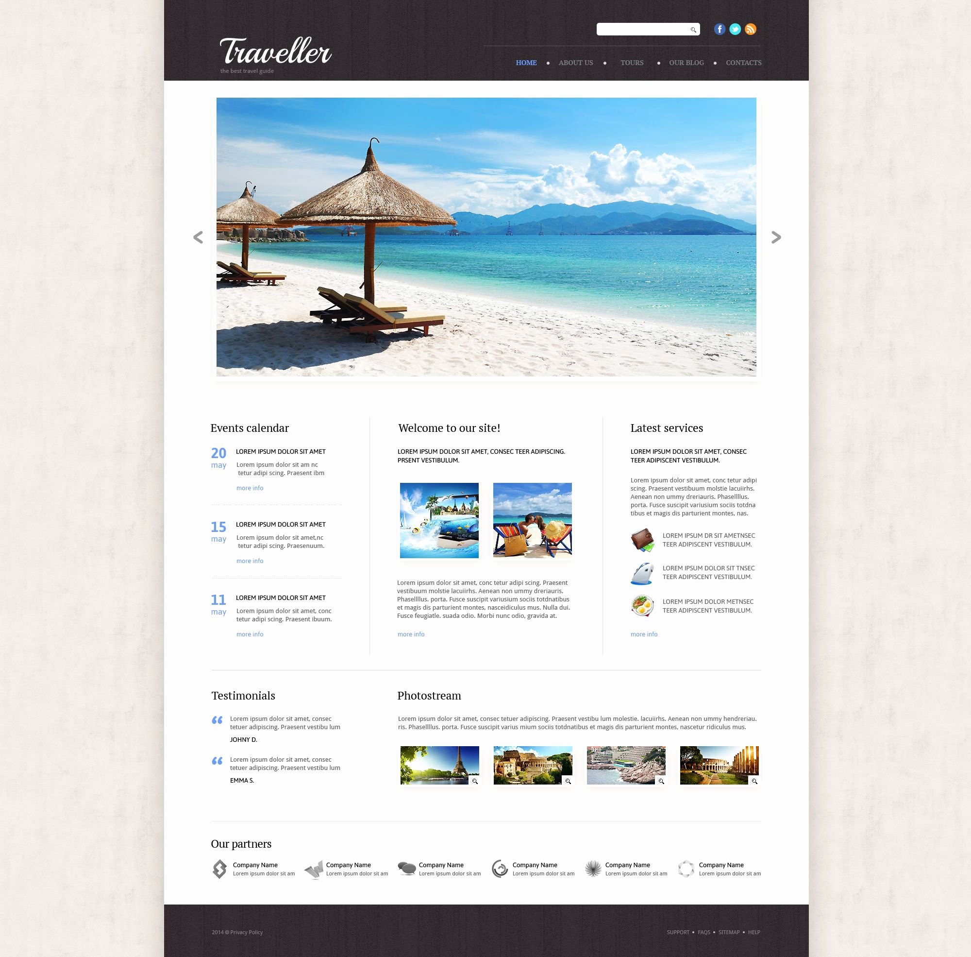 Travel Agency Website Template Best Of Travel Agency Responsive Website Template