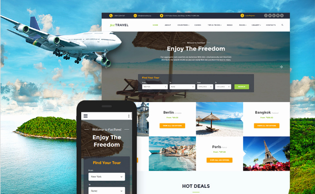 Travel Agency Website Template Elegant 20 Best Travel Bootstrap Website Templates 2019
