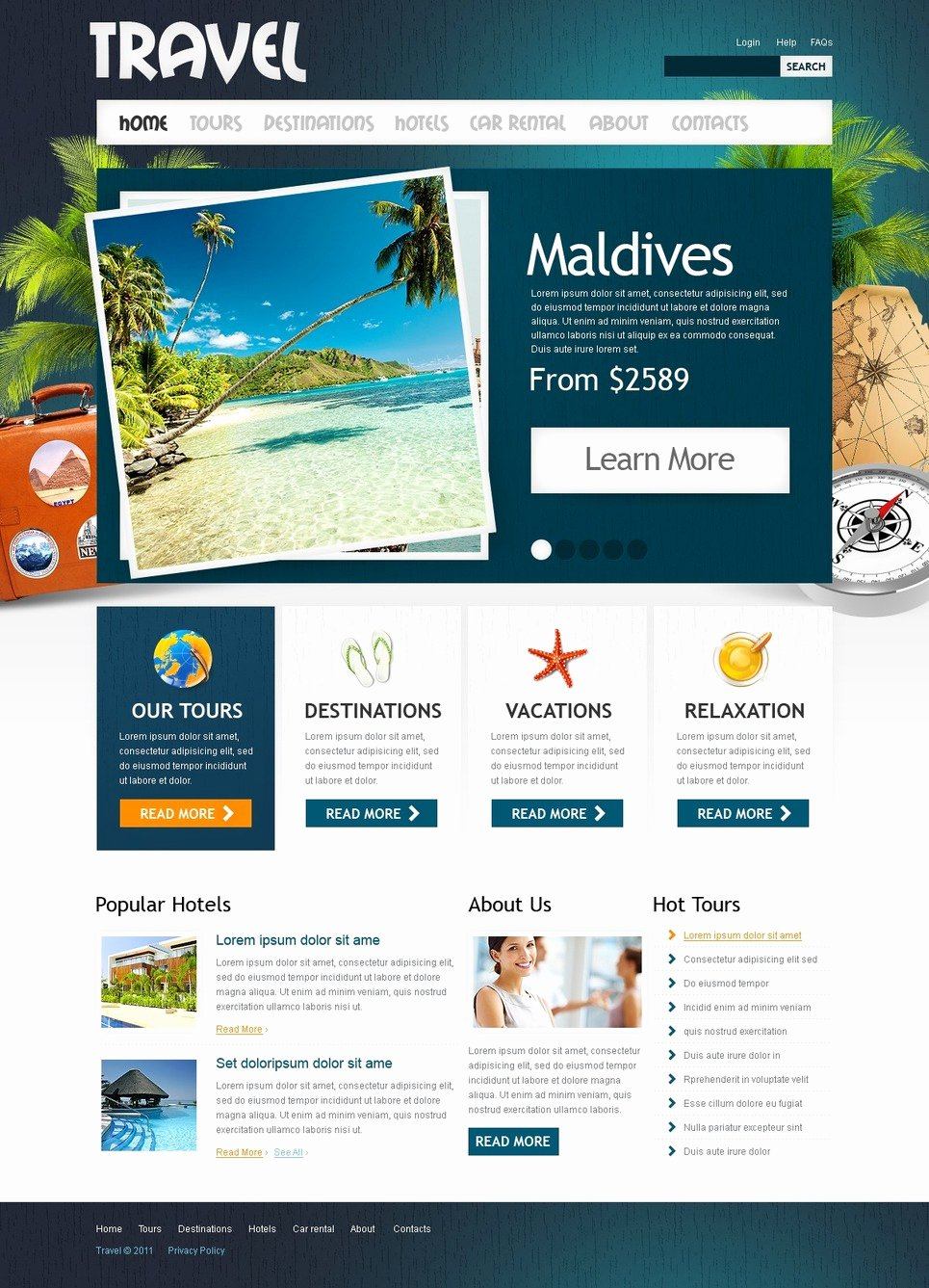 Travel Agency Website Template Lovely Travel Agency Website Template