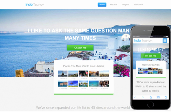 Travel Agency Website Template New 30 Nice & Free tourism Travel Website Template