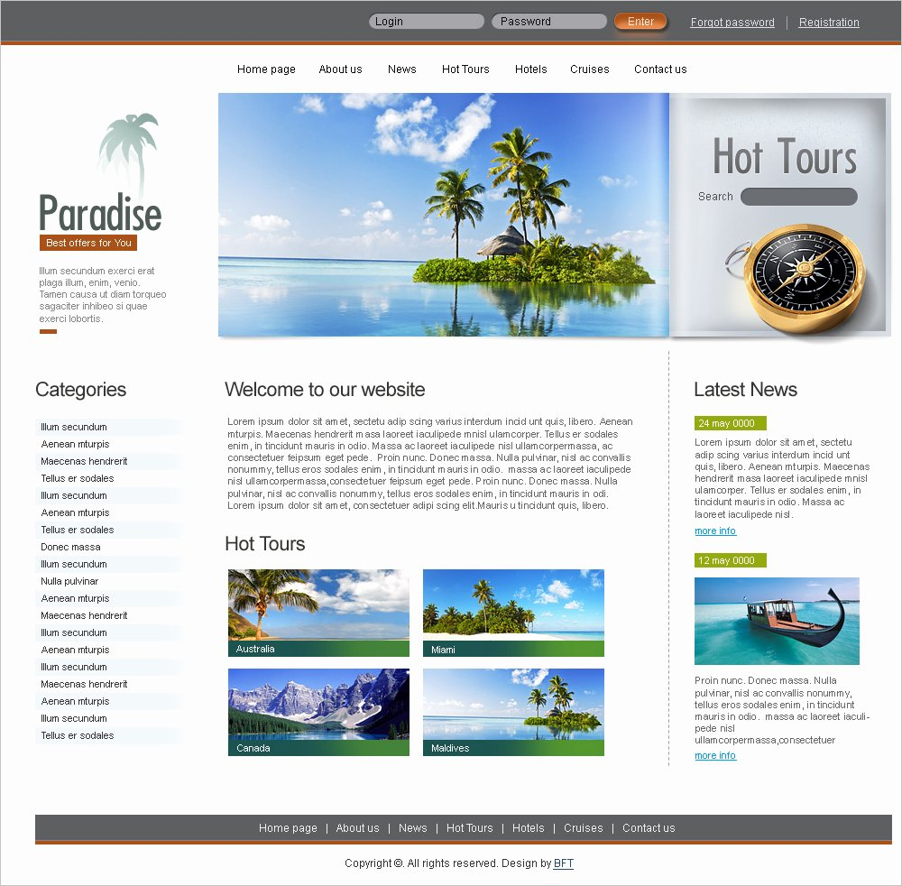 Travel Agency Website Template Unique 15 Best Free Travel Templates and themes