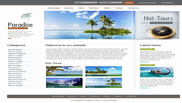 Travel Agency Website Template Unique Best Website Template for Travel Agency tour Free Download