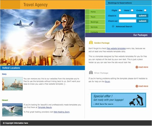 Travel Agency Website Template Unique Travel Agency Template