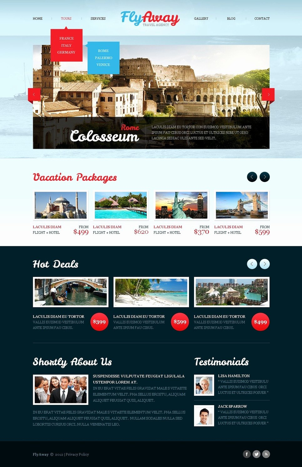 Travel Agency Website Template Unique Travel Agency Website Template